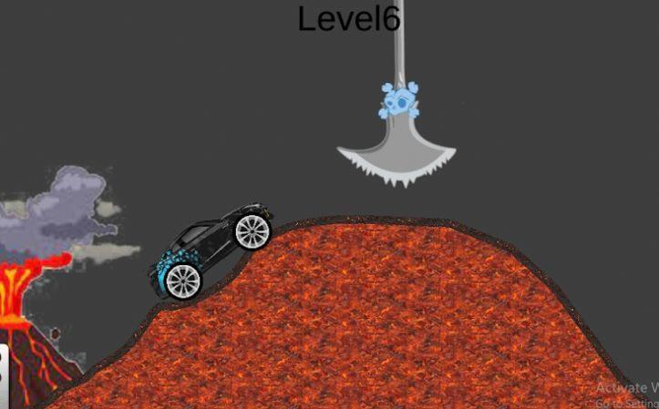 小汽车山地冒险