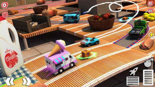 炫彩桌面賽車